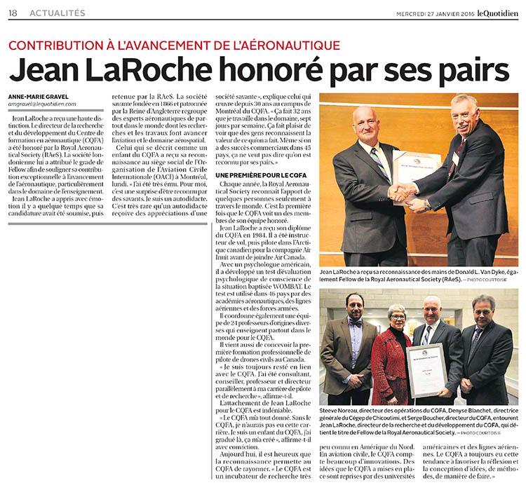 LeQuotidienSurMonOrdi.ca - Le Quotidien - 27 janvier 2016 - Page