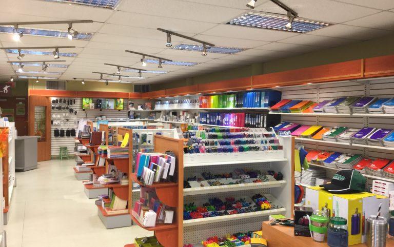 Photo de la librairie du Coopsco