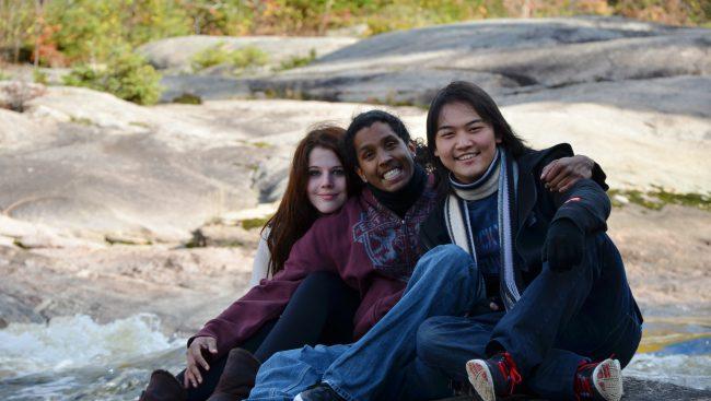 Étudiants internationaux du Cégep de Chicoutimi.