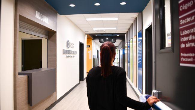 Accueil du Centre interdisciplinaire de simulations en santé