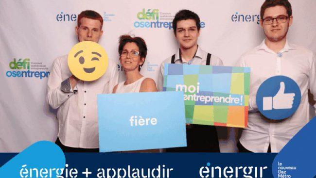 Le Club entrepreneur du Cégep de Chicoutimi s'illustre en remportant 2 prix à la finale nationale du Défi OSEntreprendre 2018 au Palais Montcalm de Québec.