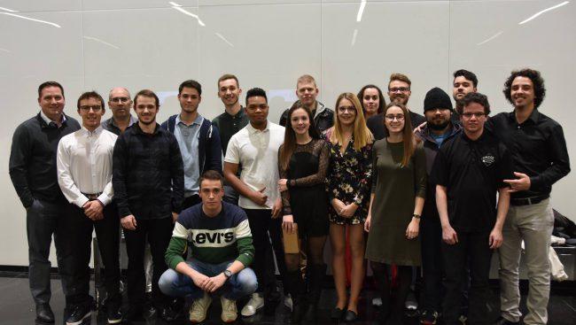 Nos étudiants de 3 année en Techniques de comptabilité et gestion qui ont remporté 6 prix dont 4 premières places à la 21e édition de la Foire canadienne des entreprises d'entraînement à Drummondville.