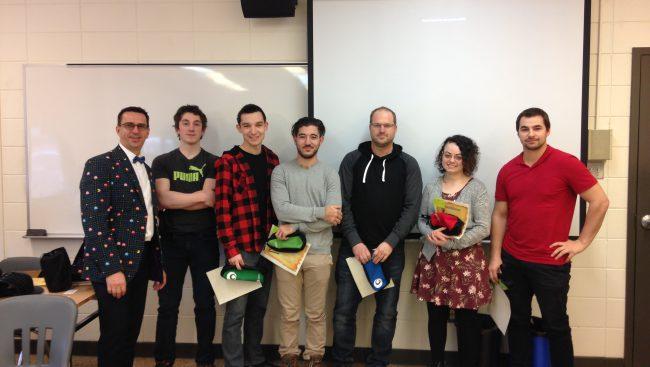 Les étudiants en Technologie du génie civil du Cégep de Chicoutimi qui se sont démarqués durant la session ont été honorés, récemment, dans un gala intitulé, Le grand concours du génie civil.