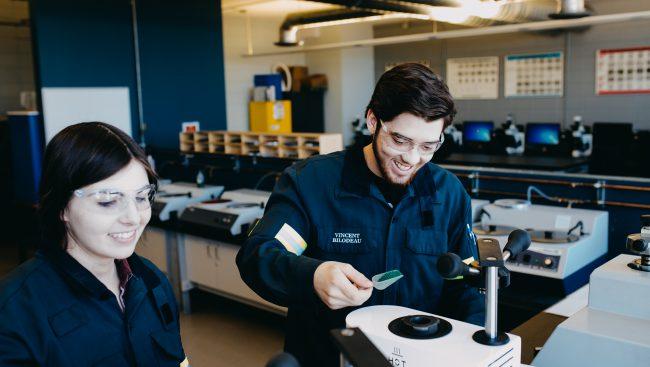 Étudiants en Technologie du génie métallurgique