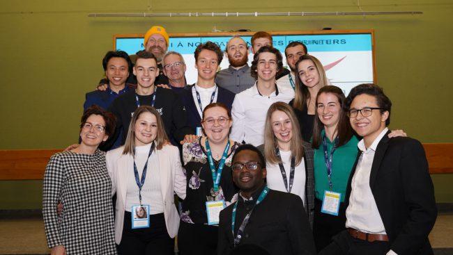 Des étudiants du Cégep de Chicoutimi se sont illustrés à l'Université du Québec à Chicoutimi (UQAC) ce week-end en raflant trois prix lors de la troisième édition du Marathonariat collectif.