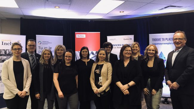 Pour contrer la rareté de main-d'œuvre, les employeurs de la région dont le Cégep de Chicoutimi se rassemblent et donnent rendez-vous aux chercheurs d'emploi le 28 février au Delta Saguenay lors de la première édition de l'événement Saguenay en emploi : trouve ta place!