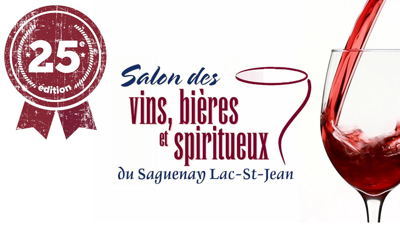 Le Salon des vins, bières et spiritueux se tiendra le 3 octobre prochain à l'hôtel Le Montagnais au coût de 35 $ par personne. L'événement célèbre cette année son 25e anniversaire.