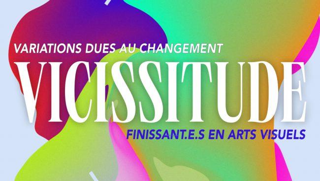 Les œuvres des étudiantes, Audrey Dufour et Justine Stozza, se sont distinguées lors de l'exposition, Vicissitude, des finissantes au programme d'Arts visuels du Cégep de Chicoutimi qui a été présentée du 10 au 13 mai 2021 au Centre Bang.