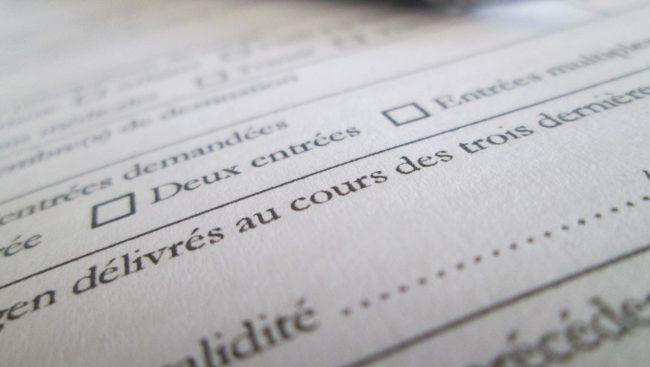 Document contrat signature