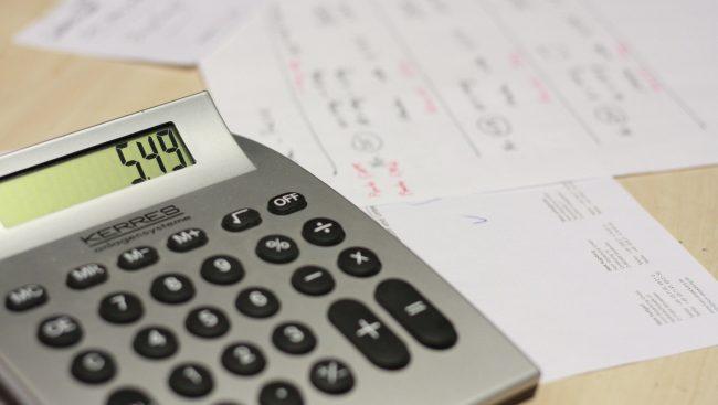 Calculatrice et documents