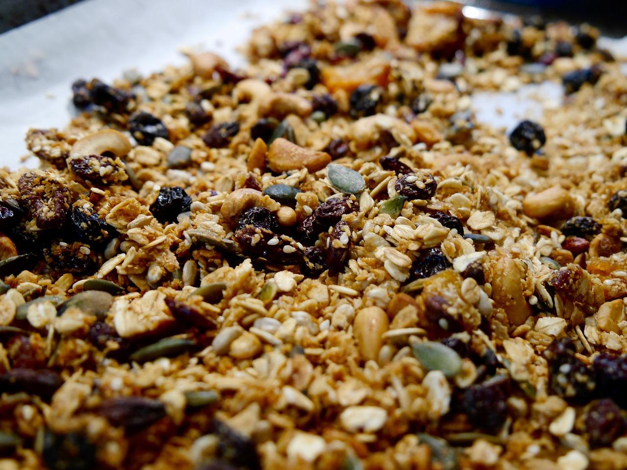 recette - barres au beurre d'arachide et au granola | cégep de