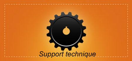 Service support technique