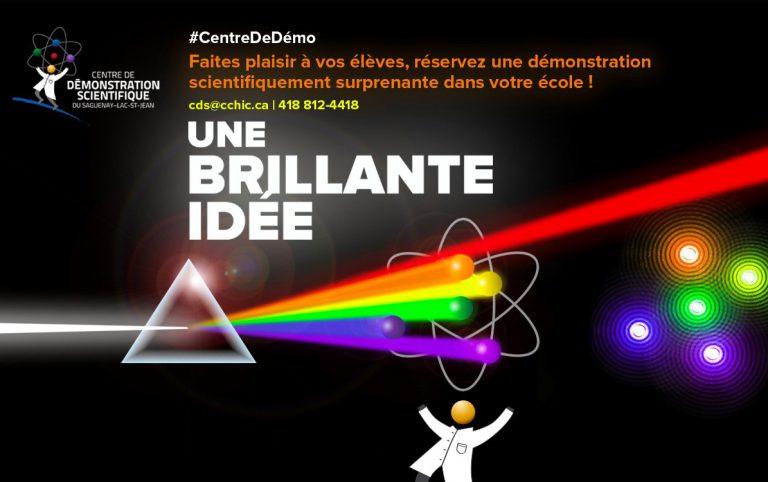 Centre Demo science une brillante idée